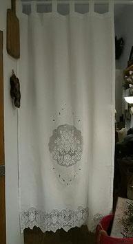Seitenteil mit mittigem Ornament/Blätter/Blumenranke