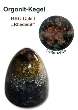 Orgonit HHG Gold I Rhodonit