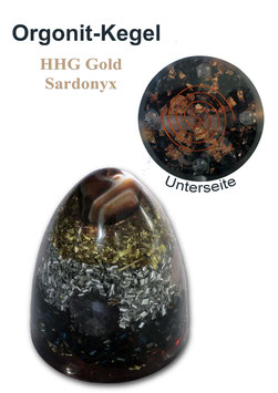 Orgonit HHG Gold II Sardonyx
