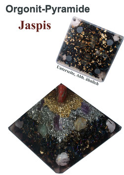 "Orgonit-Pyramide ""Roter Jaspis"""
