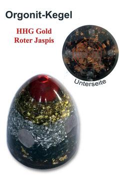Orgonit HHG Gold II Roter Jaspis