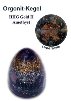Orgonit HHG Gold II Amethyst