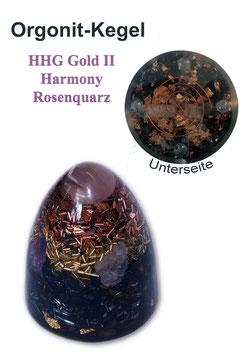 HHG Gold II Harmony Rosenquarz