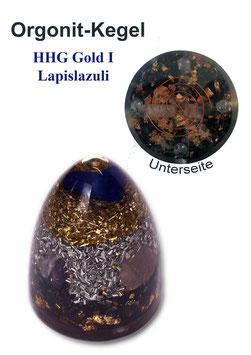 Orgonit HHG Gold I Lapislazuli