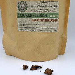 Clickerfleisch Rinderlunge 300 g