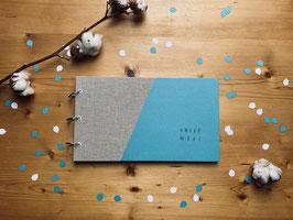 Das Babybuch mit Gewebedeckel