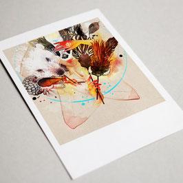 Masken (Postkarte - Anemone Kloos)