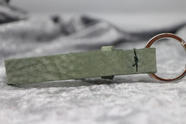 Lederschlüsselanhänger einzeln mint