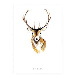 """Geschenkkarte """"Oh Deer"""""""
