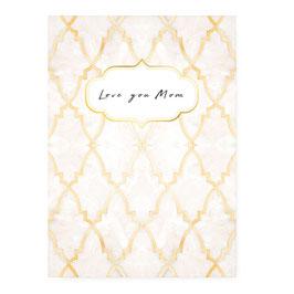 "Geschenkkarte ""loveyoumum"""