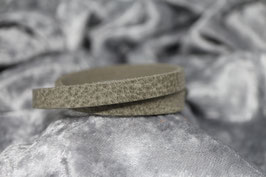 Lederarmband glatt natural grey