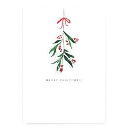 """Geschenkkarte """"Mistelzweig"""""""
