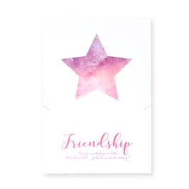 """Geschenkkarte """"Friendship forever"""""""