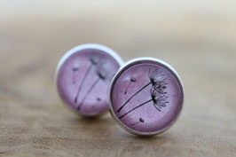 Ohrringe Dillblüten rosa