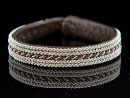 Saami Armband AN14 Braun 19 cm