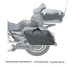 MAX-SM-Koffer-Innentaschen FLH/Touring 2 Stück re+li