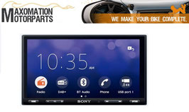 MAX-RU-SONY-XAV-AX5550D Head-Unit mit DAB+ plus Apple-Carplay/Android-Auto plus Anschaltelektronik