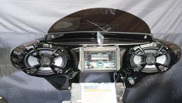"""MAX6-x-S4PLUS-DD DAB-Plus Kenwood Vivid-Black  Demo 2x200 Watt 6x9"""" Marine-Lautsprecher"""
