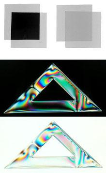 Filtres polarisants linéaires (rectilignes)