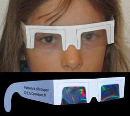 Patrons de lunettes 123 Couleurs