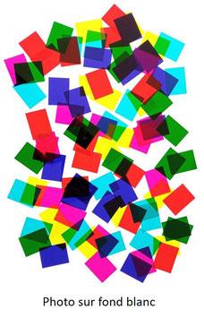 """Lot de 90 filtres colorés (spécial """"groupes"""")"""