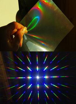 Réseaux de diffraction holographiques double axe (2D)
