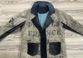 """Vintage 'la Poste"""" Postal Bag Caban like Jacket"""