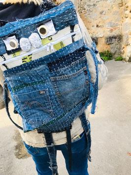 Boro Inspired Backpack