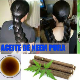 ACEITE DE NEEM PURA - CABELLOS GRASOS
