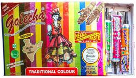 Henna Colorida - 12 tubos de Henna