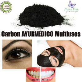PIEL LIBRE DE ESPINILLAS - CARBON AYURVEDICO 15 Hierbas 10 Aceites