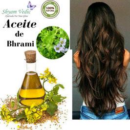 Aceite de Bhrami - Promueve el Crecimiento del Cabello