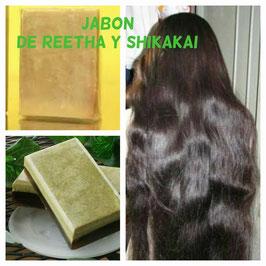 JABON REETHA SHIKAKAI - Cabello Fortalecido