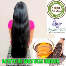 ACEITE DE MOSTAZA INDICA - Cabello mas Largo