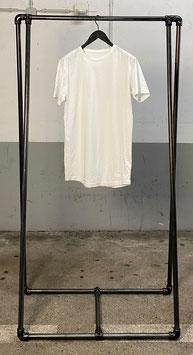 LONG TEE - white