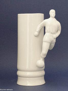 Fußballkrug aus Porzellan