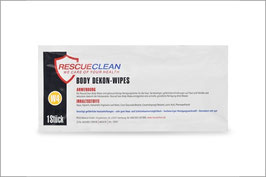 RESCUECLEAN W4 Body-Dekon-Wipes