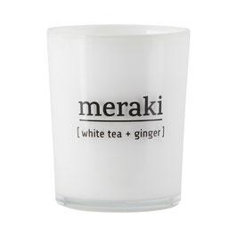 Duftkerze White Tea & Ginger  - MERAKI