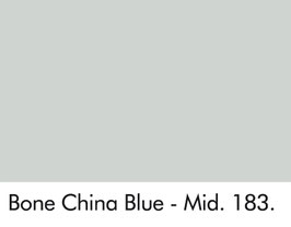 Little Greene - Bone China Blue - Mid 183.