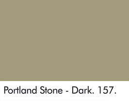 Little Greene - Portland Stone - Dark 157.