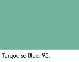 Little Greene - Turquoise Blue 93.