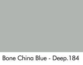 Little Greene - Bone China Blue - Deep 184.