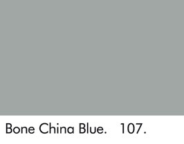 Little Greene - Bone China Blue 107.