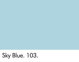 Little Greene - Sky Blue 103.
