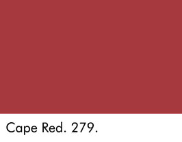 Little Greene - Cape Red 279.