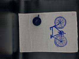 Geschirrtuch Fahrrad