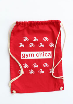 my little gym bag red