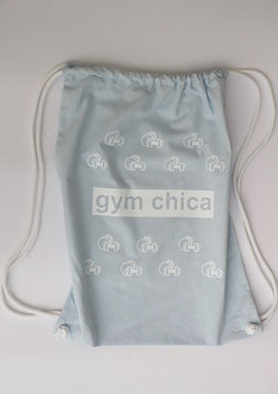 my little gym bag baby blue