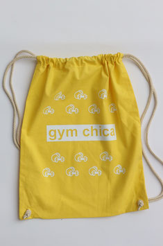 my little gym bag yellow