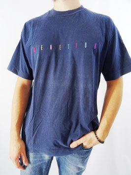 T-shirt benetton vintage t.l